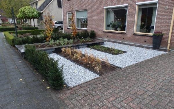 Strakke tuin in Balkbrug